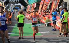 Zulema Fuentes-Pila y el marroquí Erraoui, ganadores en los 10 Kilómetros de Castro