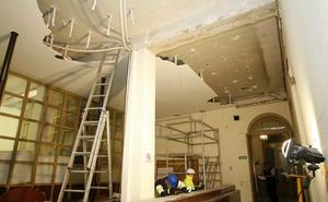 El equipo redactor actualiza el proyecto para rehabilitar el Palacio municipal