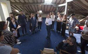 Cristina Iglesias convertirá Santander en el 'escenario' práctico de su taller