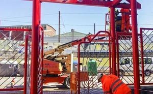 El Ayuntamiento de Camargo pide medidas de seguridad a la empresa que ejecuta trabajos en La Vidriera