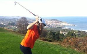 La golfista cántabra estaba federada en Asturias, donde también lloran su muerte