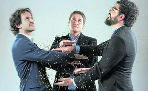 Tres físicos cántabros instalan su empresa a Bilbao porque «existían muchas más facilidades»