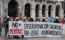 Los sindicatos vuelven a rechazar el plan el equipo de Gobierno para integrar a los bomberos de Castro Urdiales