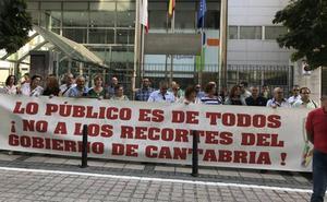 Los trabajadores de los planes hidráulicos de Cantabria, en huelga por una «privatización encubierta»