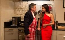 'Enamorado de mi mujer', Adriana Ugarte es la novia de Gérard Depardieu
