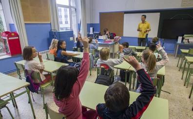 Más de 2.200 maestros están llamados hoy a la huelga, la segunda desde el inicio del curso