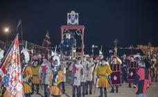 Carlos V desembarca en Laredo