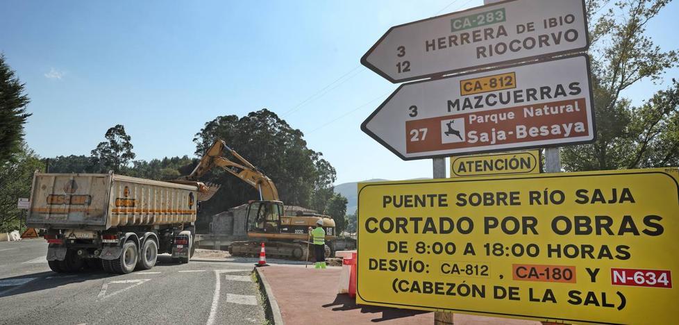 Comienzan los trabajos del nuevo puente de Virgen de la Peña que costara 3,5 millones