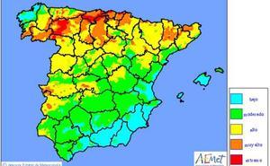 Cantabria extenderá este fin de semana el máximo nivel de alerta de incendios por las previsiones de calor y la falta de lluvia