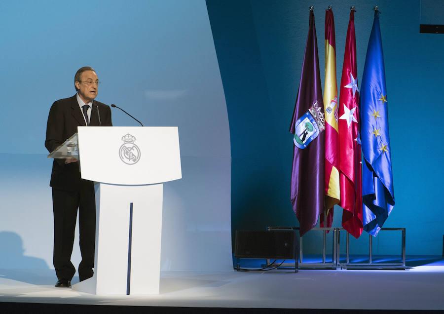 Una Asamblea marcada por la reforma del Bernabeu