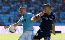 Leo Suárez da un merecido punto al Valladolid en Balaídos