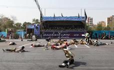 Al menos 29 muertos y decenas de heridos en un ataque contra un desfile militar en Irán