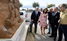 Restaurado el monumento 'El Montañés' dedicado a los fallecidos en la batalla Trafalgar