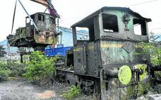 Los Corrales recupera una de las históricas locomotoras de Quijano