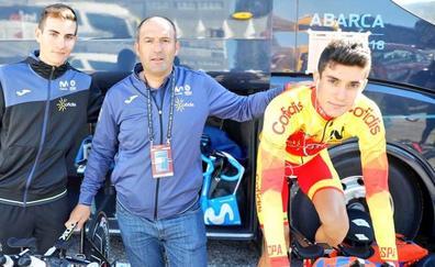 Iván Cobo, 51º en la crono del Mundial