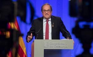 Torra comenzará en un mes el proyecto de una Constitución catalana