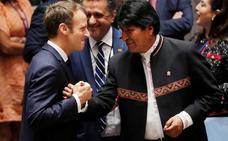 Evo Morales le planta cara a Trump en la ONU