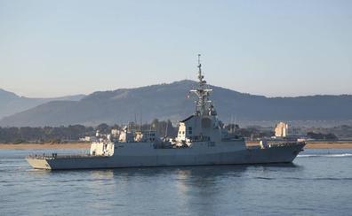 Una fragata de la Armada Española atracará mañana en el puerto