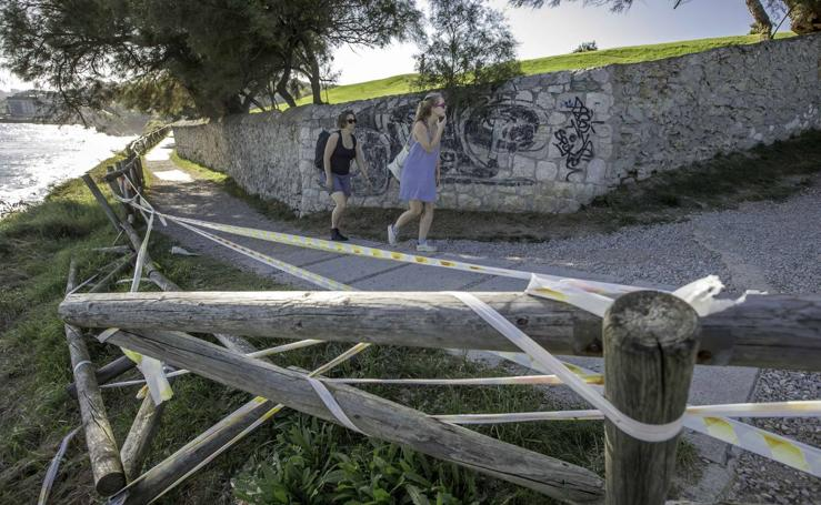 Vallas deterioradas en Mataleñas