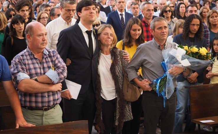 Funeral por Celia Barquín en Torrelavega