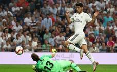 El Real Madrid añora el gol perdido