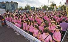 Unas 4.000 personas participan el sábado en la carrera de la mujer de Bezana