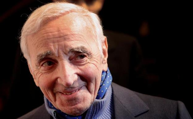 Charles Aznavour./Reuters