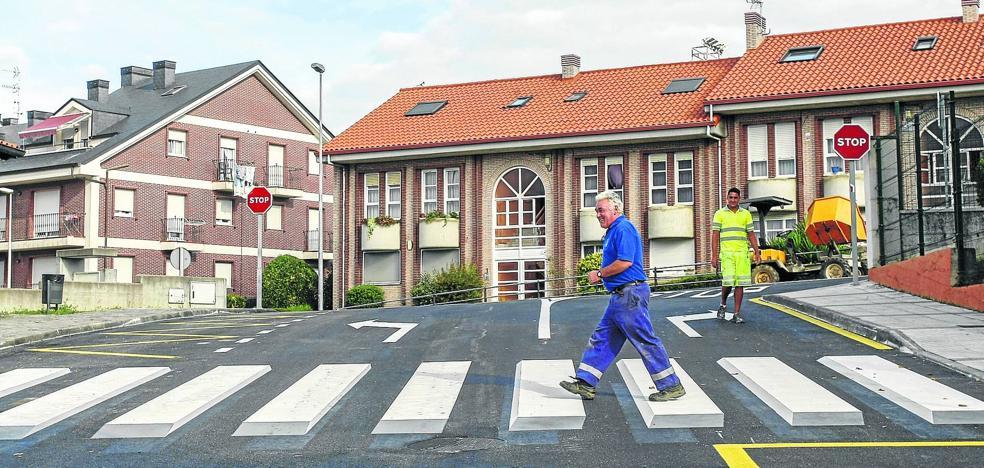 Cantabria estrena el primer paso de peatones en 3D