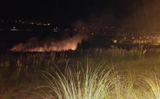 Un incendio amenazó las viviendas del Alto del Cuco