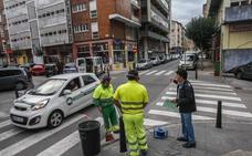 Comienzan las obras de reordenación del tráfico en el barrio de La Inmobiliaria
