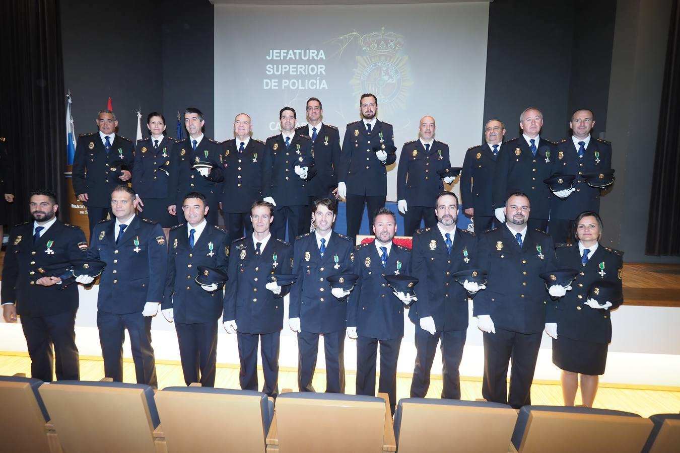 La Policía celebra sus patronos