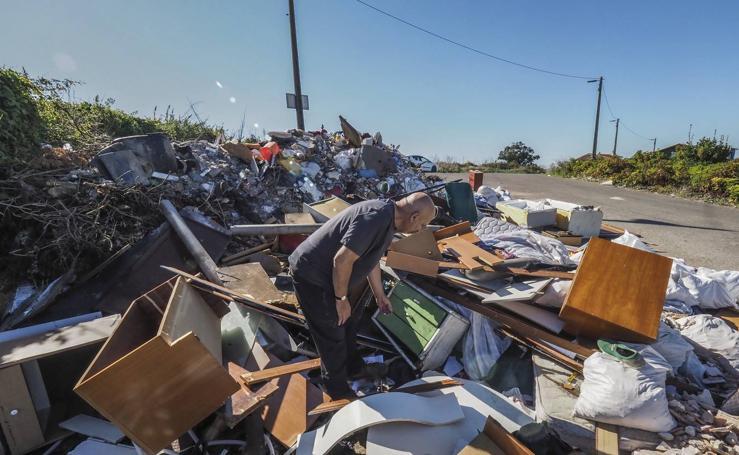 La basura se multiplica en Monte