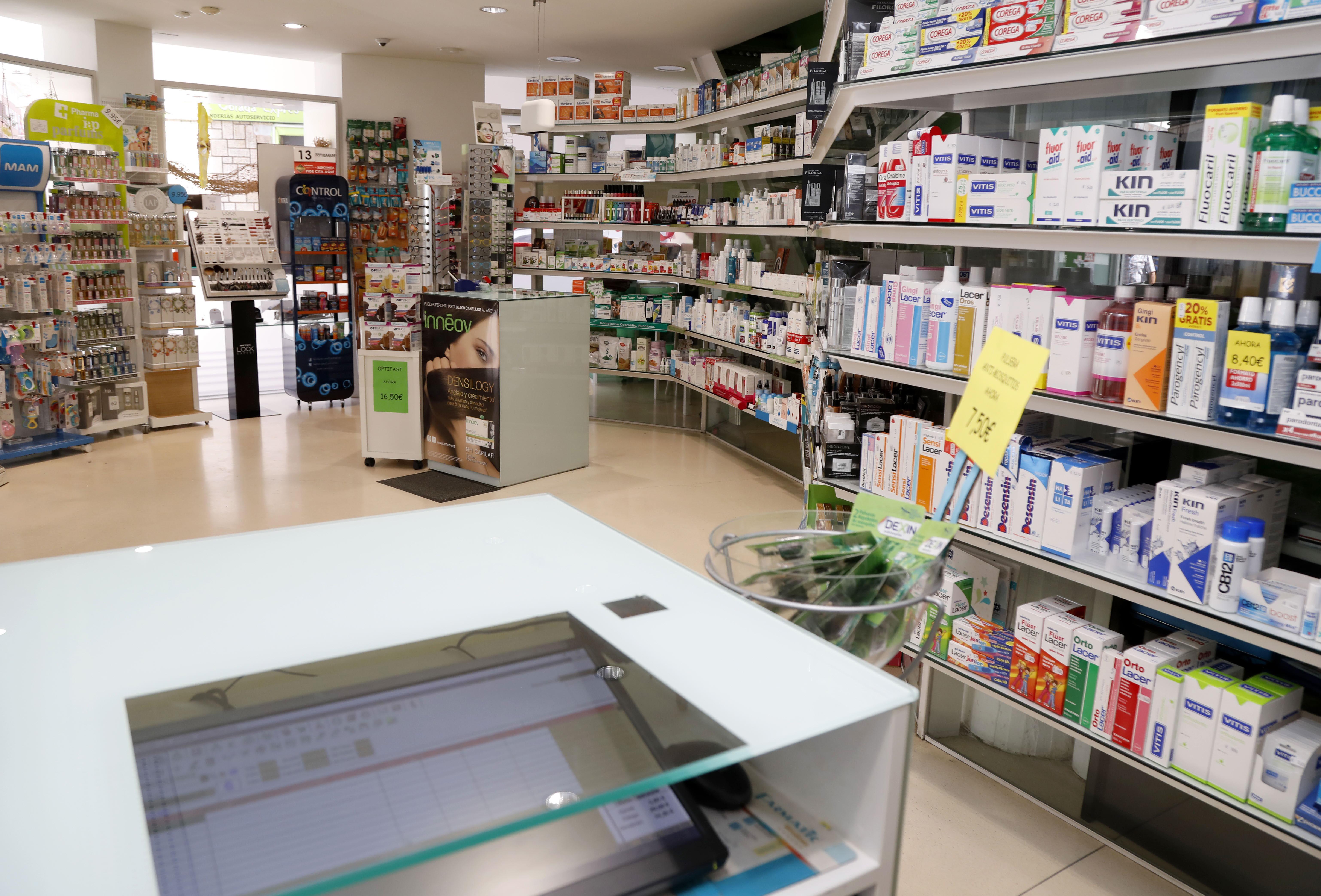 Las farmacias perderán 22 millones de euros si se suprime el copago a pensionistas