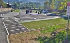 Los Corrales estrena nuevo aparcamiento para el complejo deportivo municipal