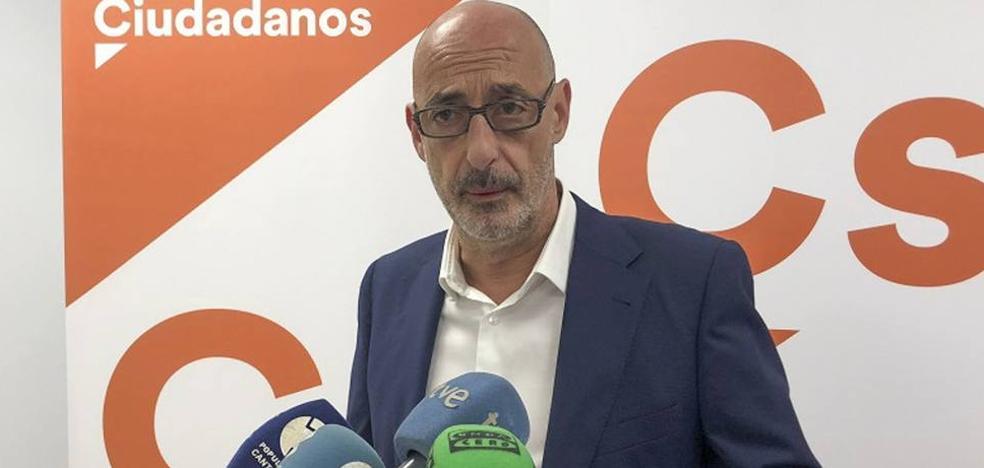 Ciudadanos: «Que los cántabros se agarren la cartera si PSOE y Podemos pactan los presupuestos»