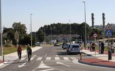 La nueva carretera entre Ganzo y Duález entra en funcionamiento