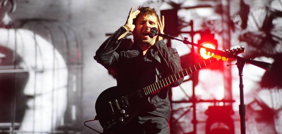 Muse actuará en San Mamés en los MTV