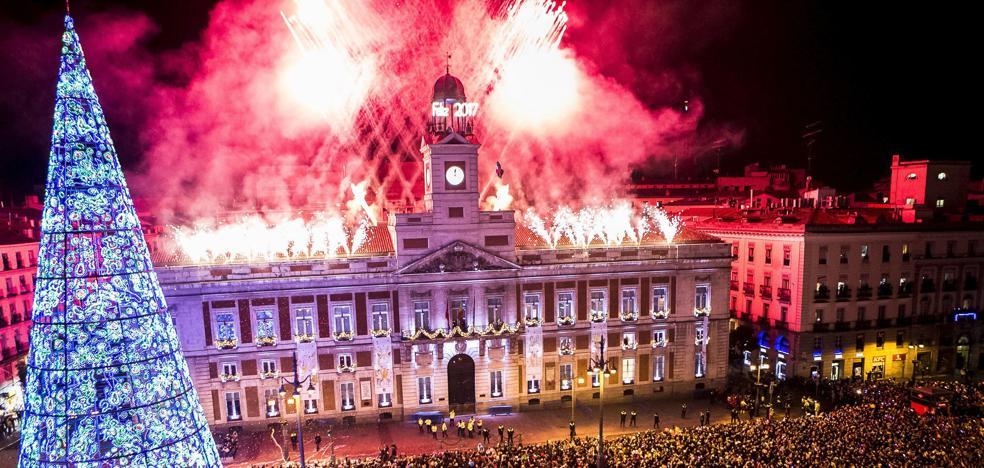 24 uvas en la Puerta del Sol