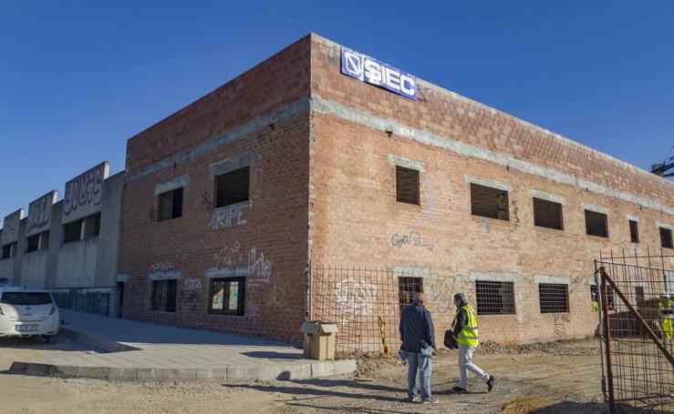 Arrancan las obras de los talleres municipales de Santander
