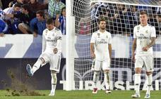 El Madrid confirma su crisis en Vitoria
