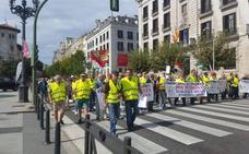 Medio millar de personas pide en Santander pensiones dignas y garantizadas
