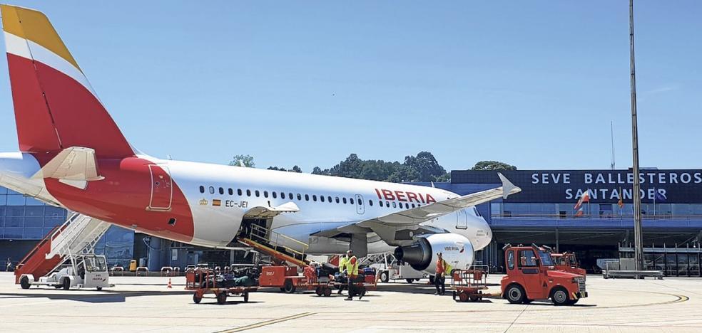 La ruta aérea con Madrid aumenta más de un 45% con los cambios introducidos por Iberia