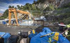 La obra del subfluvial de Santoña acumula dos años de 'coma profundo'