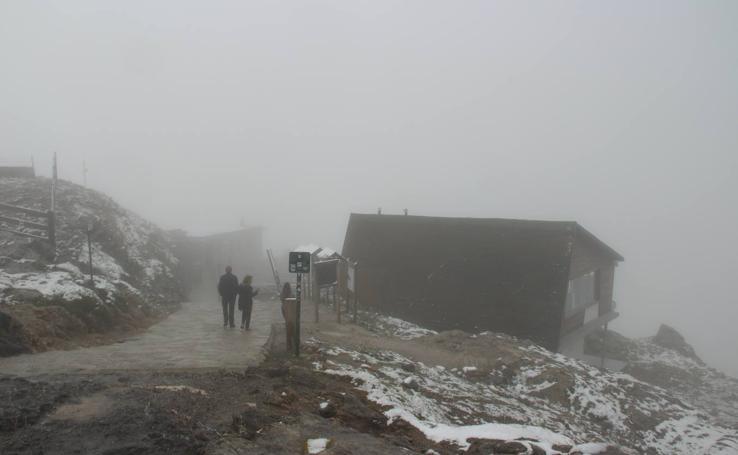 Primeras nieves en Picos de Europa