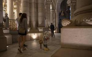 El misterio de la cripta politizada