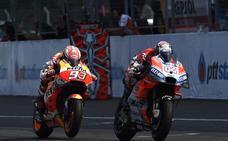 La rivalidad con Dovizioso hace crecer aún más a Márquez