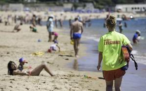 El servicio de salvamento realizó 1.560 asistencias en Santander este verano