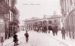 La calle de Ugarte y la plaza de Aznar
