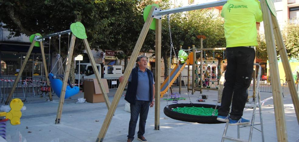 Otoño trae un parque para la plaza de Abastos