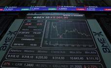 El Ibex-35 escapa de los mínimos anuales y recupera los 9.200 puntos